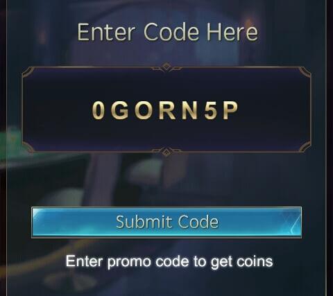 """Apabila Anda belum memasukkan Kode Refferal teman, Anda bisa memasukkan Kode """"0GORN5P"""" pada bagian """"Enter friend's code and get 50,000"""" dan pilih """"Submit Code"""" supaya Anda memperoleh 50,000 Coins."""
