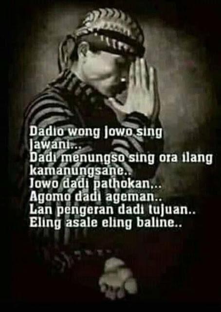 Jadilah Orang Jawa
