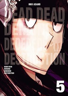 "Reseña de ""DEAD DEAD DEMONS DEDEDEDE DESTRUCTION #5"" de Inio Asano [Norma Editorial]"