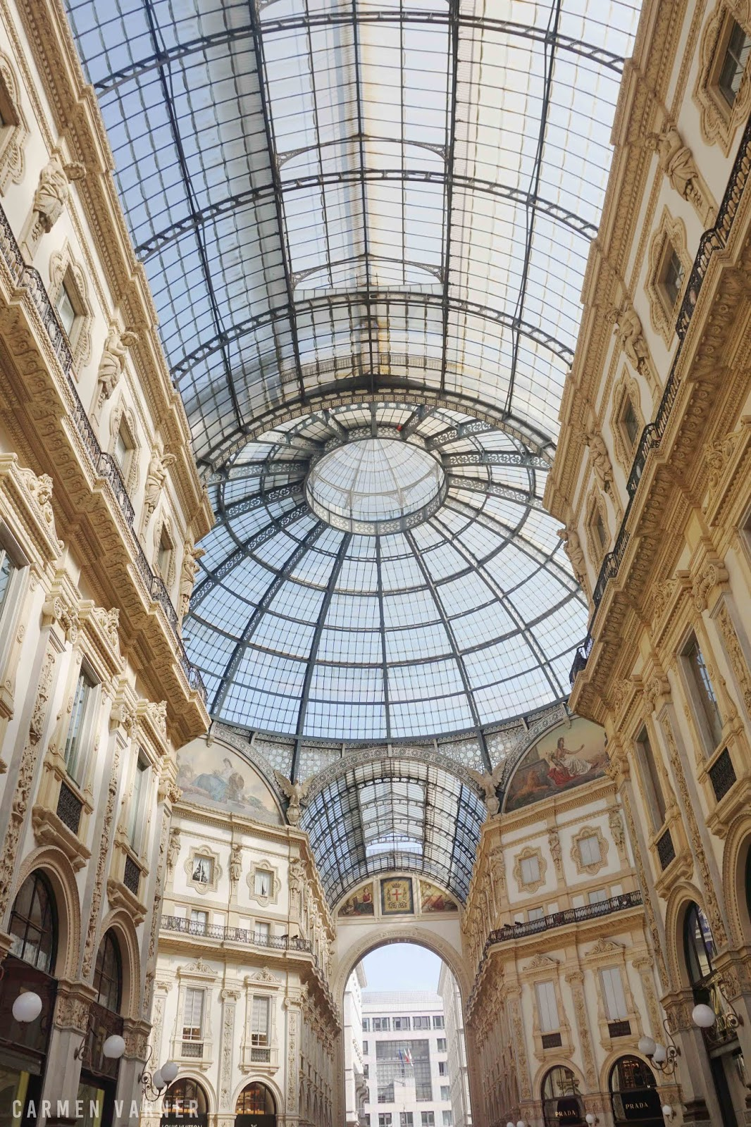 Galleria Vittorio Emanuele II shopping center mall Milan Italy travels highlights