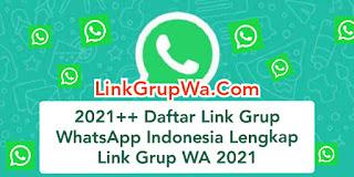 Daftar Link Grup WhatsApp