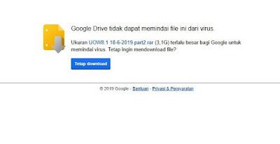 cara download dari google drive dengan idm