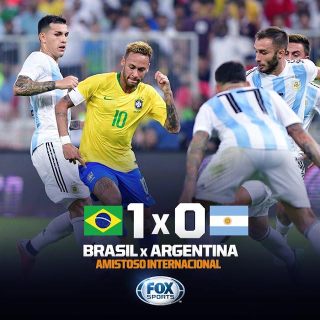 Resultado de imagem para brasil vence argentina