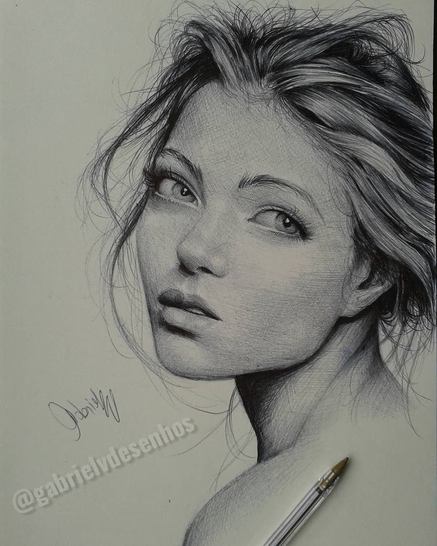05-Gabriel-Vinícius-Black-and-White-Realistic-Ballpoint-Pen-Drawings-www-designstack-co