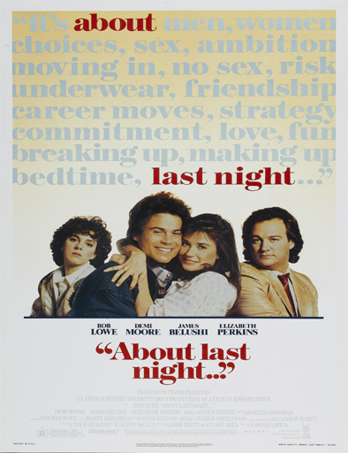 Ver ¿Qué pasó anoche?… (About Last Night) (1986) Online