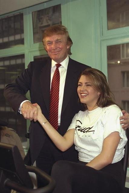 Donald Trump y Alicia Machado Miss Universo 1996