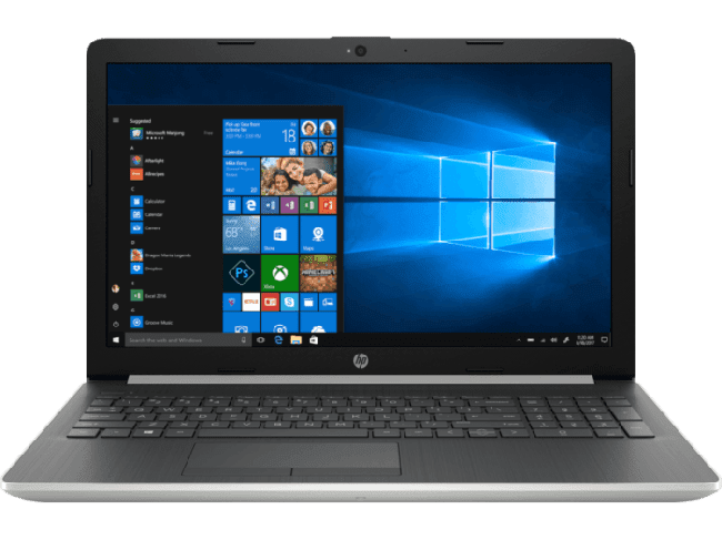 HP Notebook 15-DA0326TU (Best Laptop Under ₹40,000)