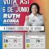 Este 6 de Junio Vota por Ruth Acuña