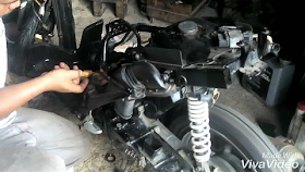 Gambar setting karburator cara pomen