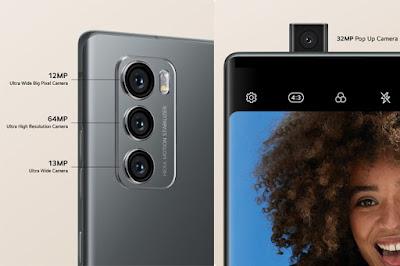 Kamera Smartphone LG WING