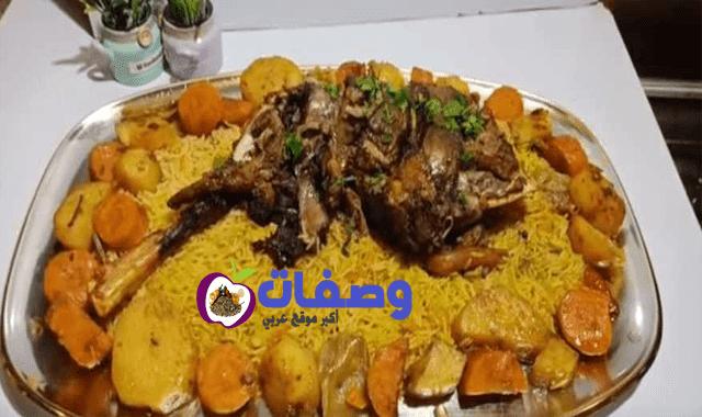 طريقه عمل الفخده الضاني فاطمه ابو حاتي