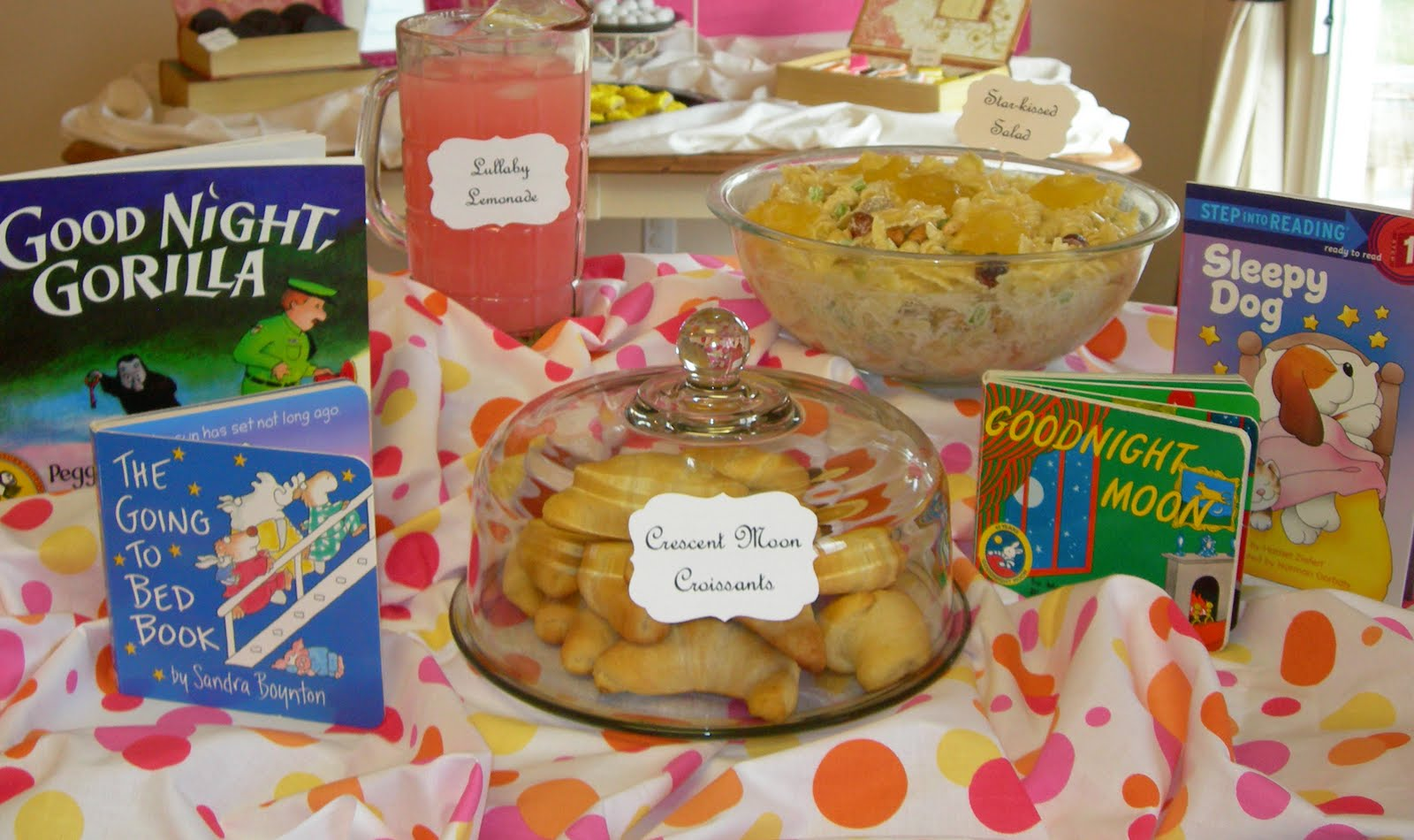 Sweeten Your Day Events Bedtime Stories Baby Shower
