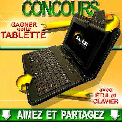 les coupons rabais une tablette avec tui et clavier gagner. Black Bedroom Furniture Sets. Home Design Ideas
