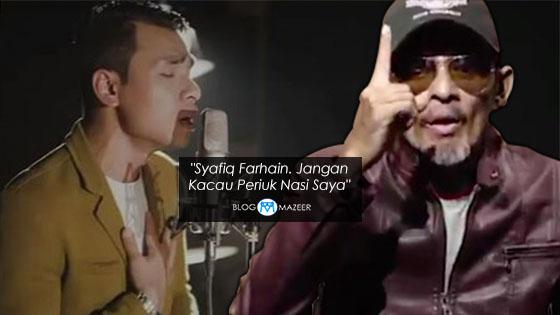 """""""Syafiq Farhain, Jangan Kacau Periuk Nasi Saya"""" - Saleem"""
