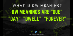 DW Meaning