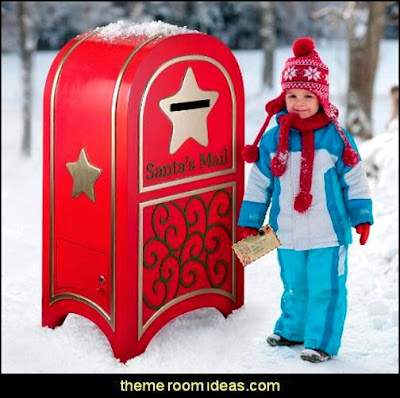 Santa's Continental Holiday Mailbox   Santas shopping mall - Christmas gifts - Christmas shopping - Christmas decorations - Christmas decorating - gift ideas for mothers - gifts for men - gift ideas for women -  gift ideas for girls - gift ideas for boys -