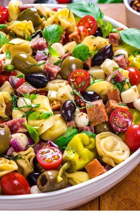 Antipasto Tortellini Pasta Salad