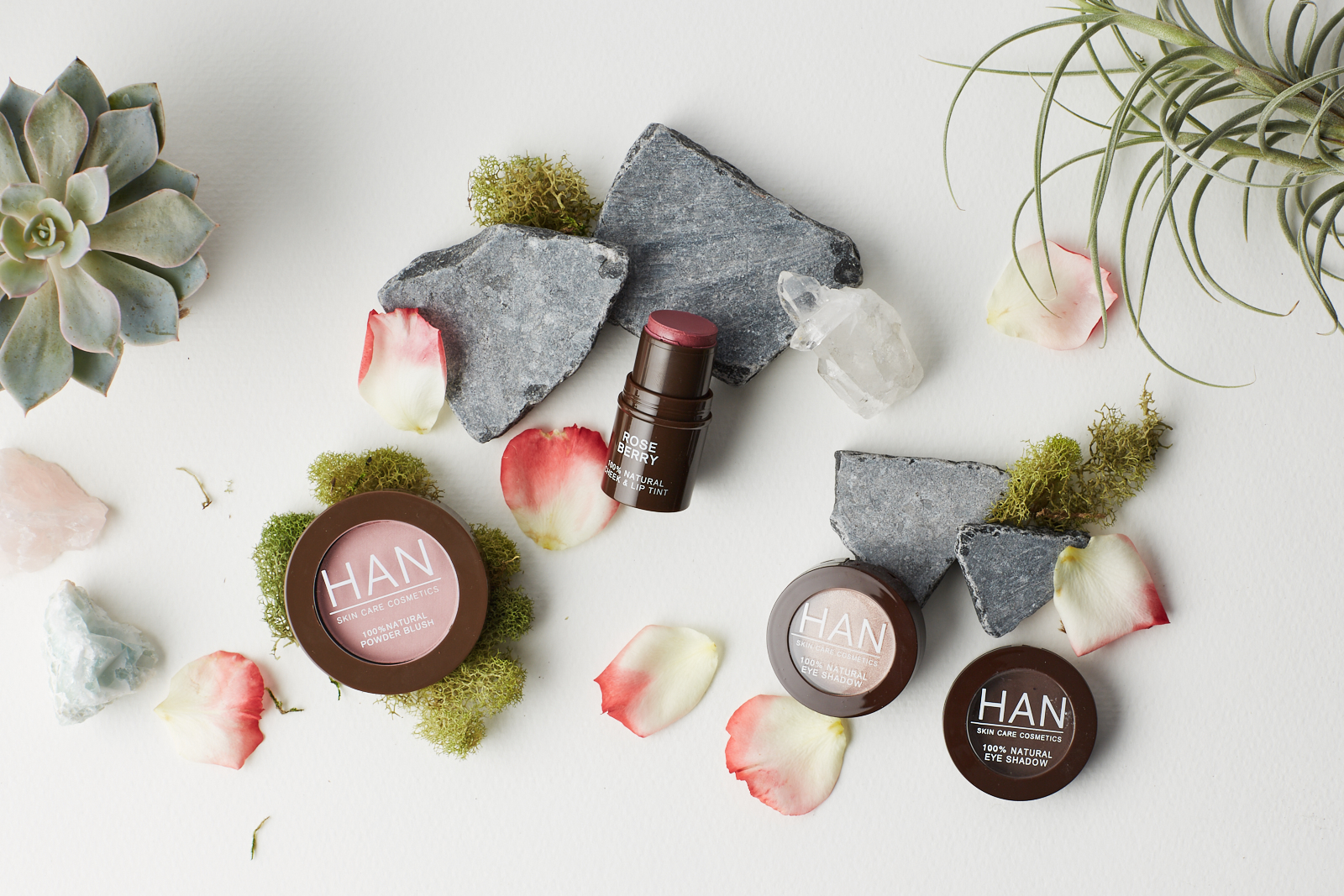 HAN Skin Care Cosmetics Collection & Review Swatches