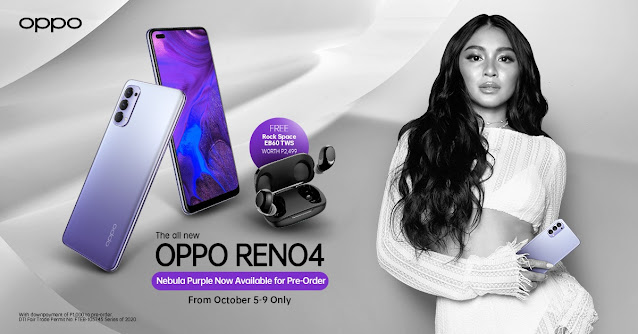The Newest, Limited Edition Colorway Reno4 Nebula Purple  Now Available for Pre-Order Starting October 5-9
