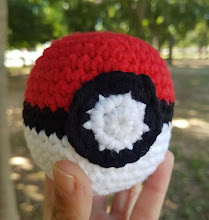 Pokeball a crochet