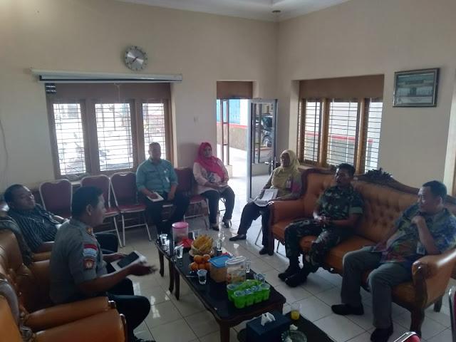 Danramil Wonosari Hadiri Rapat Koordinasi Apel  Kesiapsiagaan Pilkades Tahap III Th.2019