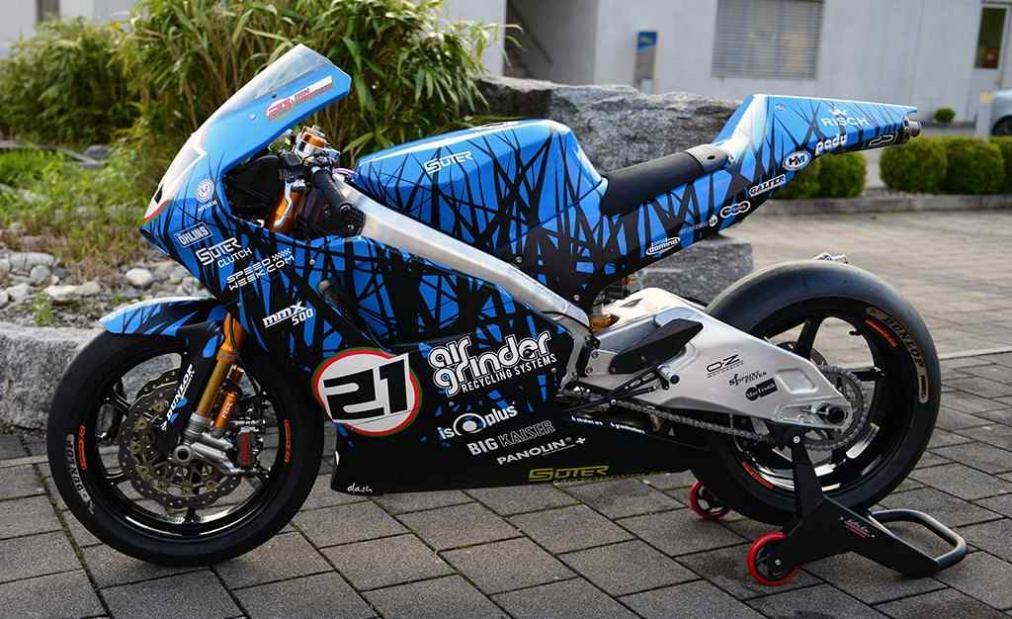 Dengan berbekal MMX 500, Suter siap mengikuti balapan di Isle of Man TT