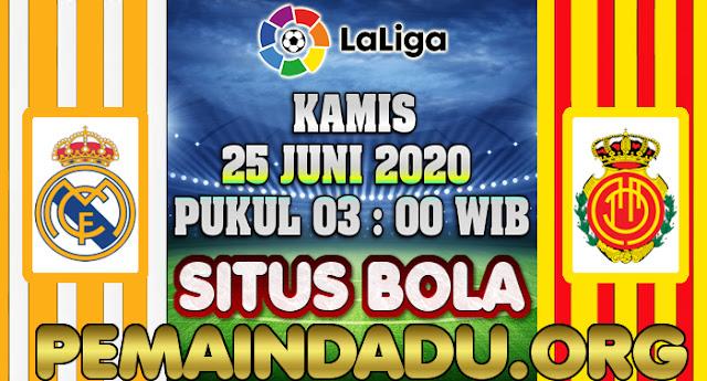 Prediksi Laga Real Madrid Kontra Real Mallorca 25 Juni 2020