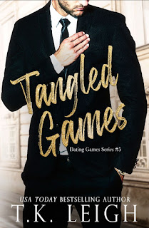 Tangled Games by TK Leigh Book cover image