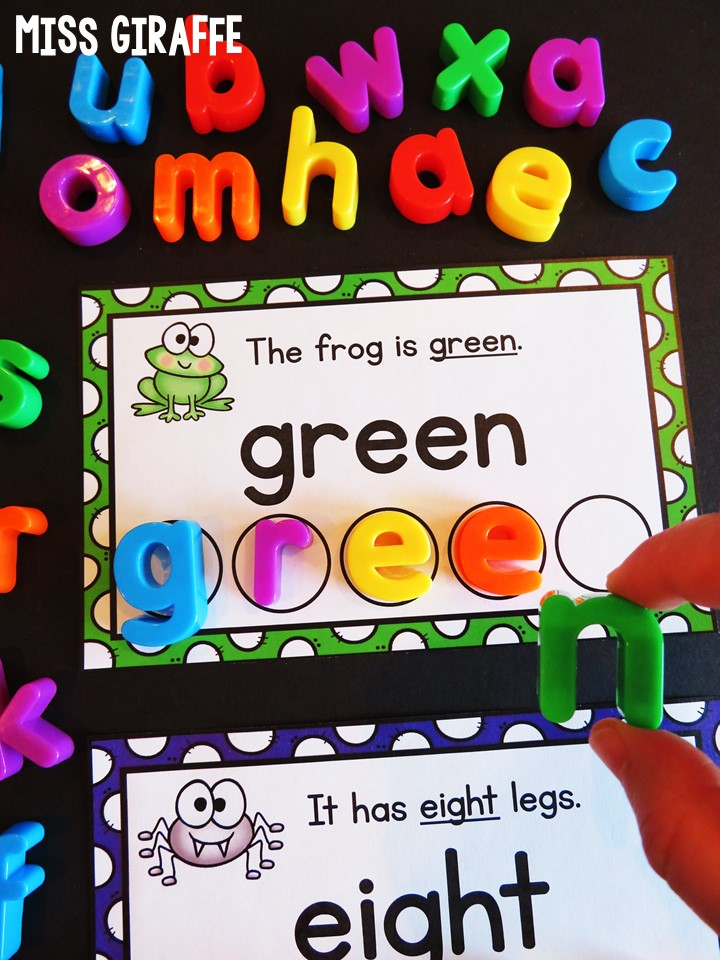 Teaching Color Words Number And Other Sight Are So Much Fun With
