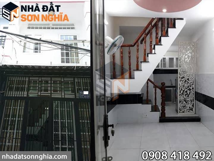 Nhà bán Gò Vấp hẻm 163 đường Bùi Quang Là phường 12