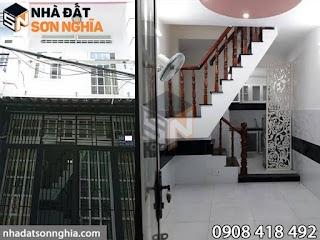 Nhà bán Gò Vấp hẻm 163 đường Bùi Quang Là phường 12 - 3x7 đúc 1t giá chỉ 2,1 tỷ ( MS 053 )