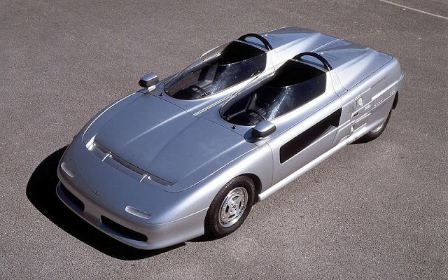 Italdesign Aztec 1980s Japanese concept car