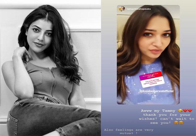 Actors Gossips: Tammanna Sends Special Wishes To Kajal