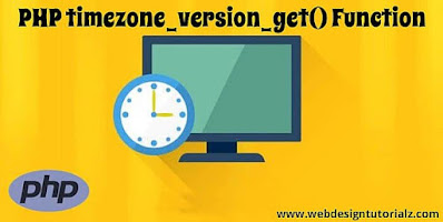 PHP timezone_version_get() Function