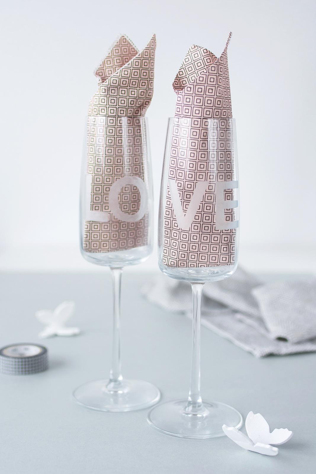 DIY: Personalisierte Weingläser + Genuss in seiner schönsten Form mit BREE Wein