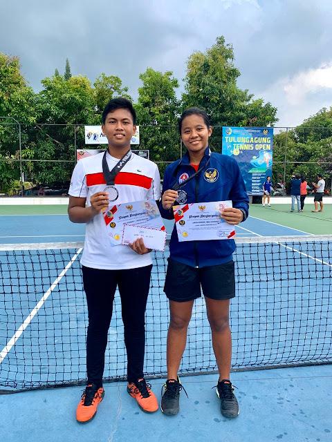 Cartika Wisesha Ukir Prestasi Gemilang di Kejurnas Tenis Piala Bupati Tulungagung