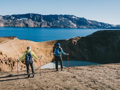 Esta zona de volcanes tan impresionante está en el norte de Islandia