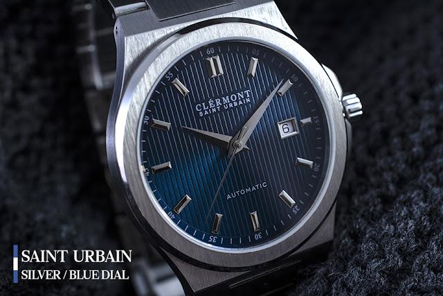 Antoine Clérmont Saint Urbain blue