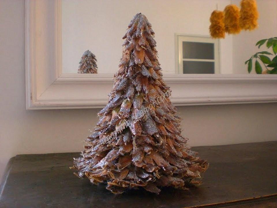 spesso Diario di una Creamamma: Alberello di Natale con pigne e glitter TO63