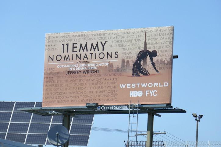 Westworld 2020 Emmy nominee billboard