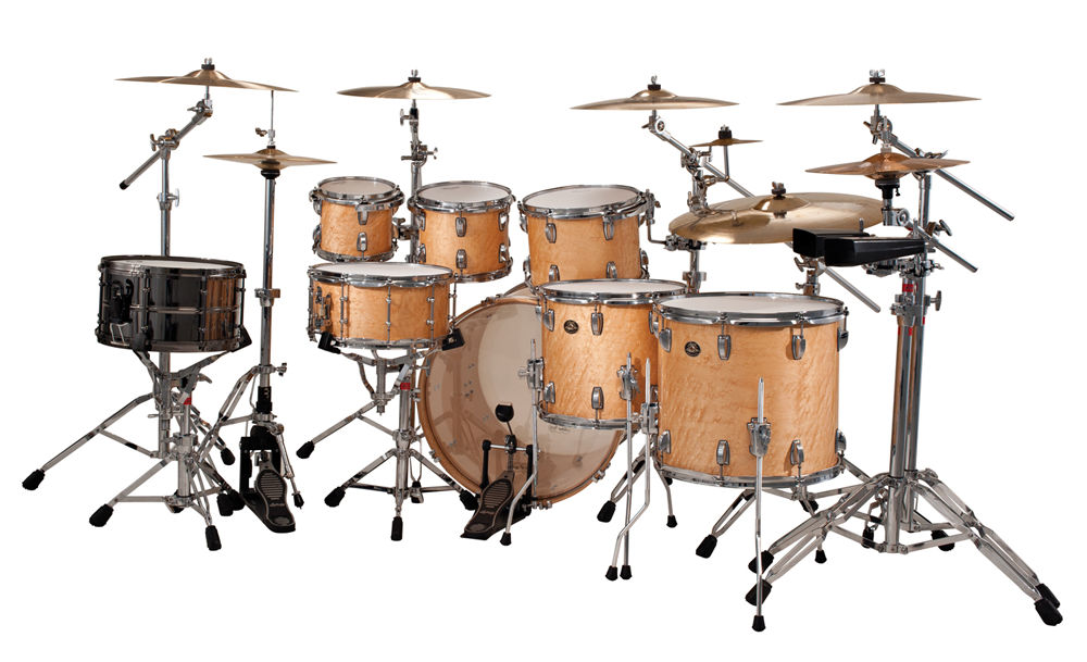 classic maple exotic natural birdseye maple find your drum set drum kits gear percussion. Black Bedroom Furniture Sets. Home Design Ideas