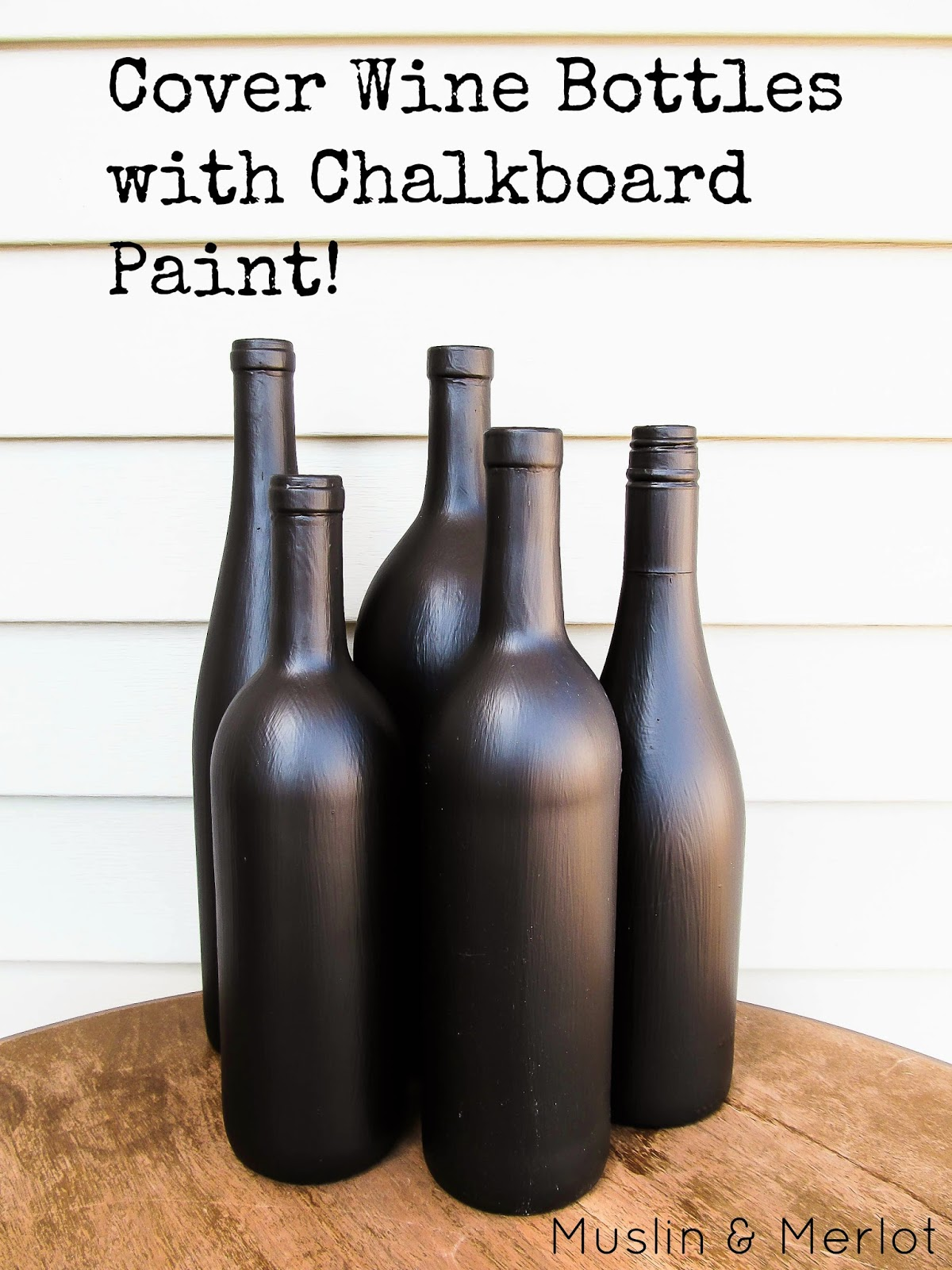 Chalkboard Paint Bottles