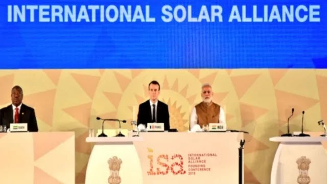 India and France re-elected as President and Co- President of the International Solar Alliance (ISA) Quick Highlights
