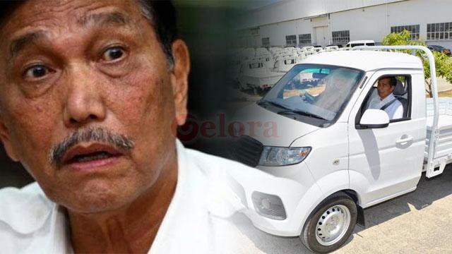 Lho, Opung Luhut kok Takut Rem Mobil Esemka Blong?