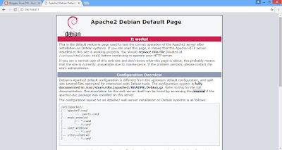 Cara Setting VirtualHost Web Server Debian 9 Dengan Apache2
