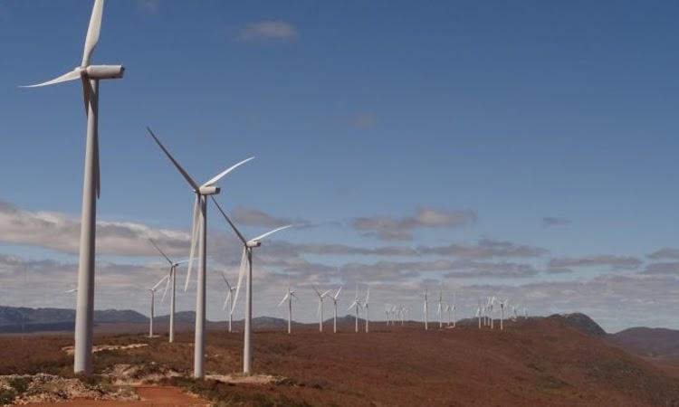 Empresas de energia eólica pretendem investir quase R$ 1 bilhão na Bahia