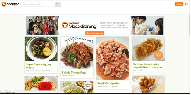 Aplikasi Memasak Cookpad