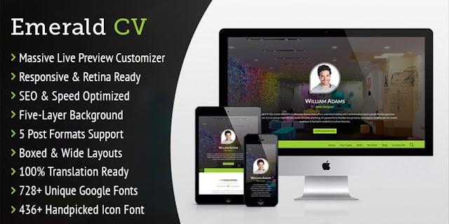 CV WordPress Theme