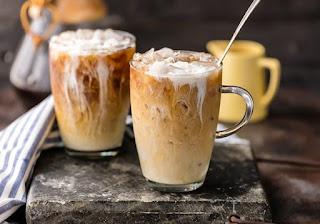 كيفية عمل القهوة المثلجة في المنزل