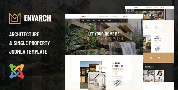 Best Architecture and Single Property Joomla Template